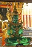 Wat Phra土井素贴在清迈,泰国 库存照片