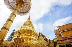 Wat Phra土井素贴,清迈,泰国,亚洲 库存照片