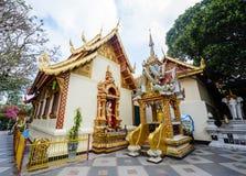 Wat Phra土井素贴,清迈,泰国,亚洲 免版税库存图片