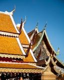 Wat Phra土井素贴,清迈,泰国 库存照片