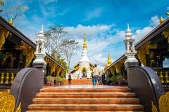 Wat Phra土井Phra陈,寺庙在Lampang泰国 图库摄影