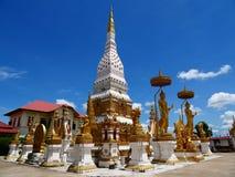 Wat phra在Nakorn Phanom泰国 图库摄影