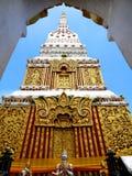 Wat phra在Nakorn Phanom泰国 免版税库存图片
