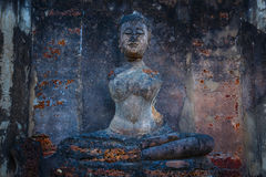 Wat Phra在Satchanalai历史公园, Sukhothai,泰国的Si拉塔纳Mahathat - Chaliang 免版税图库摄影