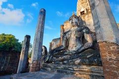Wat Phra在Satchanalai历史公园, Sukhothai,泰国的Si拉塔纳Mahathat - Chaliang 图库摄影