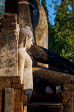 Wat Phra在Si Satchanalai历史公园的Si拉塔纳Mahathat - Chaliang在Sukhothai,泰国 免版税库存图片