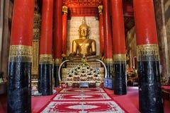 Wat Phra张西康省, Muang区,楠府,泰国 寺庙是一个公共场所 创造100岁 免版税图库摄影