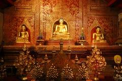 Wat Phra辛哈,清迈,泰国 库存图片