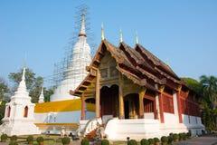 Wat Phra辛哈 免版税库存图片