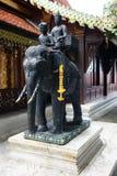Wat Phra那个土井素贴寺庙泰国清迈菩萨 库存图片