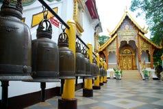 Wat Phra那个土井素贴寺庙。清迈,泰国 库存照片