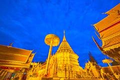 Wat Phra那个土井素贴寺庙 库存照片