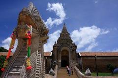 Wat Phra那Lampang Luang (佛教寺庙) 库存照片