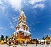Wat Phra που βουδιστικός ναός Phanom σε Nakon Pranom Ταϊλάνδη Στοκ Φωτογραφία