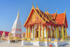 Wat Phra που ναός της Renu Nakhon στην Ταϊλάνδη Στοκ εικόνες με δικαίωμα ελεύθερης χρήσης