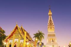 Wat Phra που ναός Panom στην Ταϊλάνδη Στοκ εικόνες με δικαίωμα ελεύθερης χρήσης