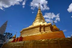 Wat Phra που Chae Haeng [παγόδα]. Στοκ φωτογραφία με δικαίωμα ελεύθερης χρήσης