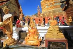 Wat Phra που Doi Suthep σε Chiang Mai Στοκ Φωτογραφία