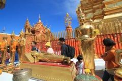 Wat Phra που Doi Suthep σε Chiang Mai Στοκ εικόνα με δικαίωμα ελεύθερης χρήσης
