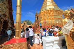 Wat Phra που Doi Suthep σε Chiang Mai Στοκ Εικόνα