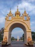 Wat Phra που Phanom Ορόσημο της Ταϊλάνδης Στοκ φωτογραφία με δικαίωμα ελεύθερης χρήσης