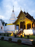 Wat Phra Σινγκ Woramahaviharn Στοκ εικόνα με δικαίωμα ελεύθερης χρήσης
