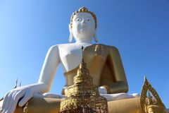 Wat Phra ότι λέξεις Chiang Mai Doi η Ταϊλάνδη της Νοτιοανατολικής Ασίας Στοκ Εικόνες
