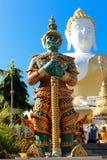Wat Phra ότι λέξεις Chiang Mai Doi η Ταϊλάνδη της Νοτιοανατολικής Ασίας Στοκ εικόνες με δικαίωμα ελεύθερης χρήσης