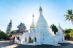 Wat Phra которого Doi Kong Mu, самый старый ориентир ориентир в Mae Hong так Стоковое фото RF