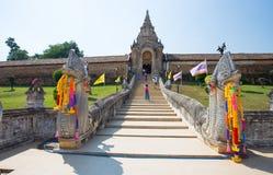 Wat Phra которое висок Lampang Luang, Lampang, Таиланд стоковая фотография