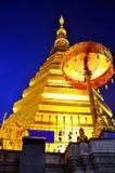 Wat Phra которое Cho Hae, королевский висок в Phrae Стоковое Изображение RF