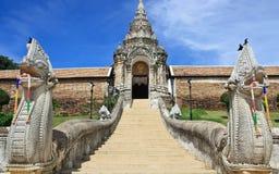 Wat Phra которое Lampang Luang, известный висок в Lampang Стоковые Фото