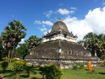 Wat Phra которое Mak Mo или rach Wi Chun Wat на Luang Prabang Loas Стоковое Изображение RF