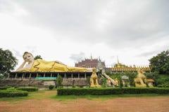 Wat Phra которое Suthon Mongkhon Khiri, Phrae, Таиланд Стоковая Фотография