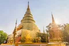 Wat Phra поет висок общественно для всех людей расположенных в провинции Чиангмая, Таиланде Стоковые Фото