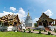Wat Phra поет, Чиангмай Стоковое Изображение