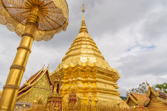 Wat Phra тот висок Doi Suthep Стоковые Фотографии RF