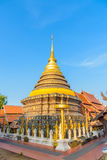 Wat Phra тот висок Lampang Luang Стоковое Изображение RF