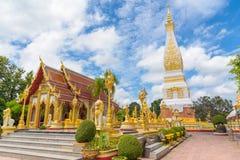 Wat Phra тот висок Panom Стоковое Изображение