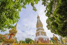 Wat Phra то Phanom на provience Nakorn-pranom Стоковые Фото