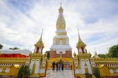 Wat Phra то Phanom на provience Nakorn-pranom Стоковые Фотографии RF