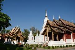 Wat Phra allsång, Chiangmai Thailand Arkivfoton