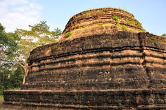 Ruined Tower at Wat Phra Bat Noi Royalty Free Stock Image