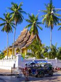 Wat Phra Bat Tai Buddhist-Tempel Royalty-vrije Stock Foto's