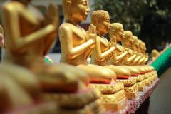 Wat Phra Borom That Thung Yang Stockfotos