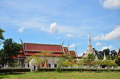 Wat Phra Borommathat Chaiya Temple Imagens de Stock