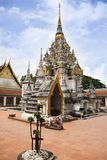 Wat Phra Borommathat Chaiya Temple in Chaiya district in Surat Thani, Thailand Royalty Free Stock Images