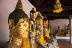 Wat Phra Borommathat Chaiya Temple in Chaiya district in Surat Thani, Thailand Stock Image