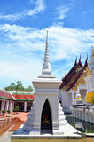 Wat Phra Borommathat Chaiya Temple in Chaiya Surat Thani Royalty Free Stock Photo