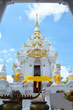 Wat Phra Borommathat Chaiya Temple in Chaiya Surat Thani Royalty Free Stock Photography